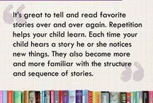 Let's Get Reading...Literacy Tips For Little People / A selection of ideas and suggestions to support children on the road to literacy development and help build a lifelong love of reading