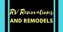 RV Renovations and Remodels / Who doesn't like to ooh and ahh over amazing RV remodels? I'll also be storing RV storage ideas and RV hacks here.
