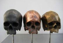 SKELES / Skeletons / Skulls / Cages / Rib cages / Bones / by NIKKI SCOTT