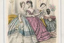 1860-1864 Evening Wear