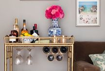 For the Home: Bar Carts