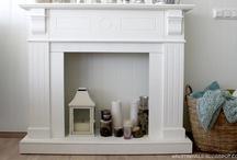 Fireplace setup