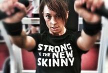 Strong Is the New Skinny (Health/Wellness, Fitness, Diet & Exercise) / by RO PhotogROphy