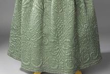 18th Century Quilted Petticoats