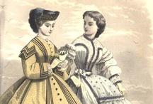 1860-1864 Day Wear