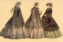 1860s Outerwear and Headwear