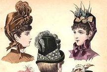 1883-1889 Headwear