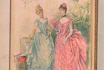 1883-1889 Evening Wear