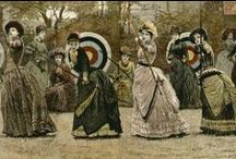 1880s Outdoor Clothes: Riding, Hunting, Walking, Seaside, etc.