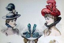 1890s Headwear