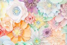 Papierliebe :: / Wunderschöne DIY Papierblumen und Scherenschnitte. Buntes Papier ist so vielseitig einsetzbar. Kunst auf besondere Art (Paper Art)!