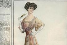 1900-1908 Evening Wear