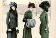 1909-1914 Walking Suits