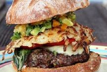 **Burgers** / Burgers of all kinds: beef, chicken, fish, veggie. If it dribbles down your chin, find it here. If you'd like to pin to this board, email me lydia@theperfectpantry.com / by Lydia (The Perfect Pantry)