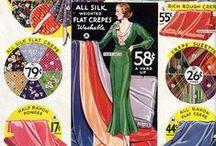 1930s Fabrics and Trims