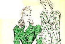 1940s Underwear and Robes