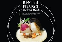 The Best of France / From October 14th to 18th, the event The Best of France will be celebrated for the first time in Piaf Restaurant of Grand Velas Riviera Maya, where recognized chefs from the group Maîtres Cuisiners de France will share a menu full of French culinary art created by each orne of them.   The chefs are: Christian Tetêdoie, Claude Le-Tohic, Claude Godard, Michel Mustiére. / by Grand Velas Riviera Maya