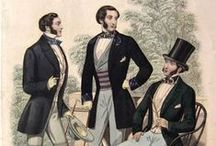 Men's Clothing 1850s