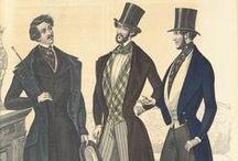 Men's Clothing 1840s