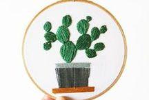 Sticken :: / Ein DIY Trend dem ich gerne mehr Zeit widmen würde ist das Sticken. Eine Sammlung toller do it yourself Anleitungen und inspirierender Stickprojekte gibt es hier.