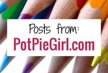 PotPieGirl.com Posts & Pins / Ready to make money blogging? Here are all the best blogging tips, affiliate marketing strategies and make money at home ideas from PotPieGirl.com in one place here on Pinterest.