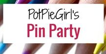 PotPieGirl's Pin Party Pins / Great posts my readers share with me on my Pin Party Blog Posts at PotPieGirl.com
