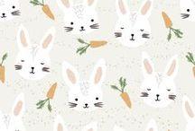 Pattern Design :: / Surface Pattern Design mit süßen Illustrationen für unterschiedliche Produkte. Textildesign. Kids Pattern Design.