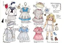 Paper Dolls / My favorite past-time next to reading, as a little girl. / by ~Kare~