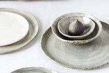 Vaisselle  & céramique / Le plaisir de déguster un plat commence aussi par l'assiette.