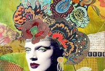 Digital Collage/Digital & Altered Art / Sites and Artists that have inspired me / by Lisa