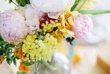 Fleurs | Flowers / Des bouquets de fleurs pour s'inspirer, rendre la maison plus belle ou pour rendre une fête inoubliable.