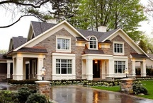 Exterior Homes / by Shanna McQueen