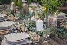 Décoration de table | Table decoration / De beaux objets et de belles idées pour décorer sa table en fonction des saisons et des occasions.