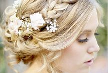 Wedding Hair & Makeup / Inspiration board for brides! Wedding Hair & Makeup galore.