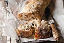 Pain | Bread / Des pains au levain, des pains spéciaux... Pour le quotidien ou les jours de fête. Un plaisir des yeux et une folle envie de croquer dedans...