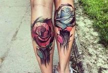 Tattoo&Body Art / Tattoos / Tattoo artists / Watercolor tattoo / Minimalistic / Shading / B&W