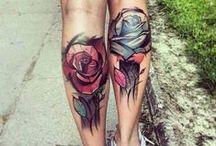 Tattoo&Body Art / Tattoos / Tattoo artists / Watercolor tattoo / Minimalistic / Shading / B&W