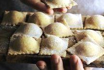 Pâtes et raviolis | Pasta / Des pâtes, des raviolis, des gnocchis... Que c'est bon ! A la maison, c'est certainement un des plats préféré de toute la famille.