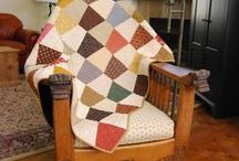 Tumbler Quilts / Such a simple quilt to make!  They are so cute!