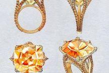 Bocetos de joyas