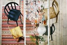 interior therapy / Interiors with Scandinavian influence, vintage touches and pops of color