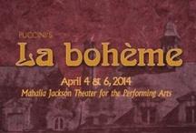 La bohème / New Orleans Opera production April 4 & 6, 2014