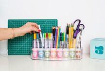CRAFT&SEWING ORGANIZATION IDEAS / IDEAS PARA ORDENAR ESPACIOS DE MANUALIDADES Y COSTURA