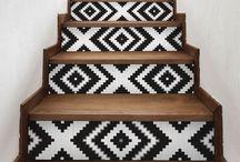 STAIRS / ESCALERAS DIY, DECO & IDEAS
