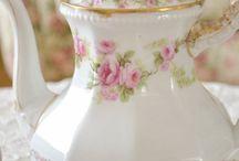 Beautiful Tea Cups and Tea Pots
