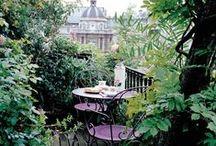 Colazione, tè e aperitivo in terrazza / Balconi e terrazze, piccoli angoli segreti