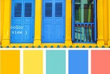 Colour Schemes / An endless palette of colour