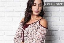 Curvy & Plus Size - Tops / Outstanding bohemian Plus Size tops available on GypsyOutfitters.com