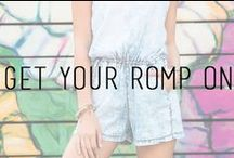 Rompers & Jumpers / by Styles For Less