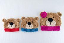 CROCHET HAT /GORROS GANCHILLO PUNTO / Crochet hat ideas and DIY e Ideas para hacer gorros de ganchillo o lana